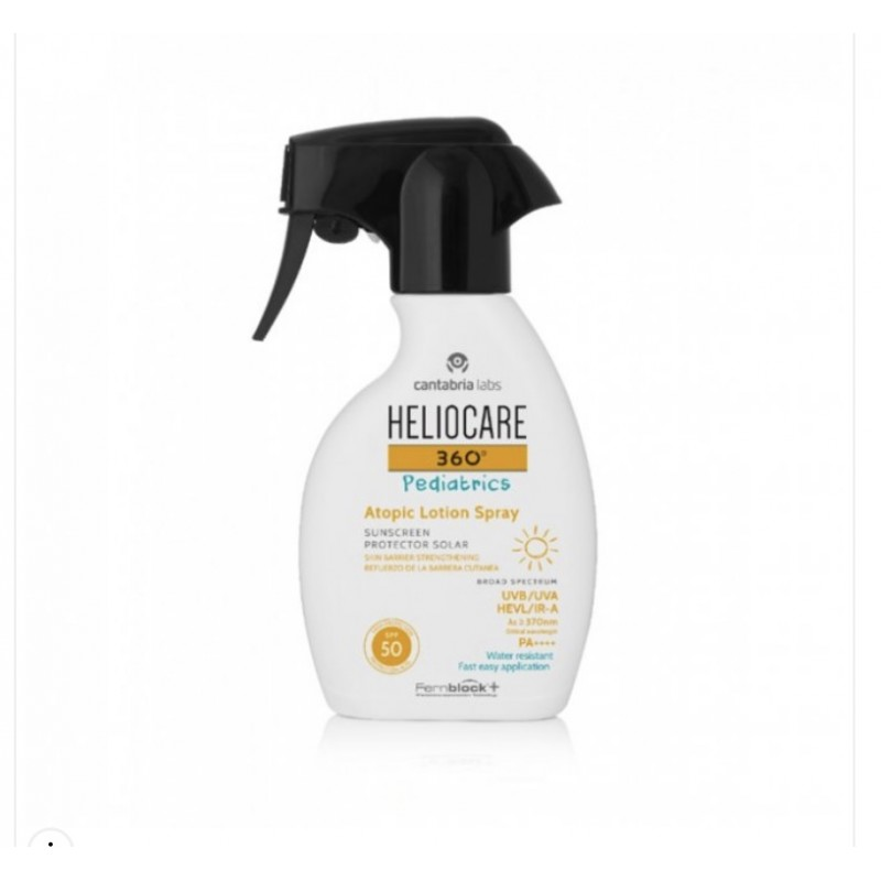 Heliocare 360 Pediatrics atopic lotion spray