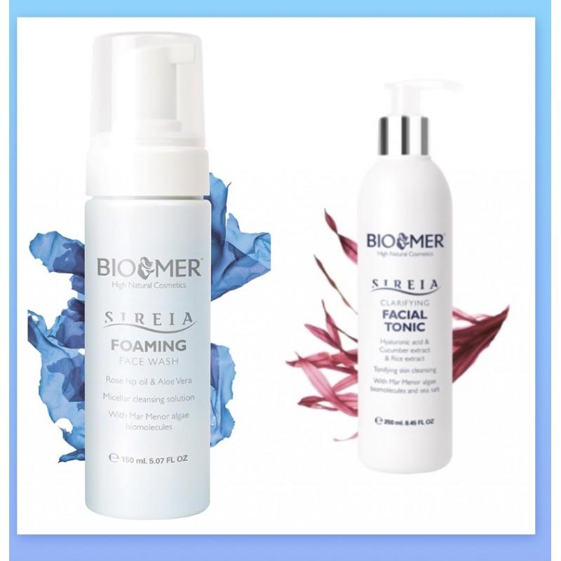 Biomer skumrens + toner pakke