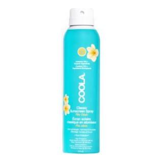 Coola sunscreen spray pina colada spf 30